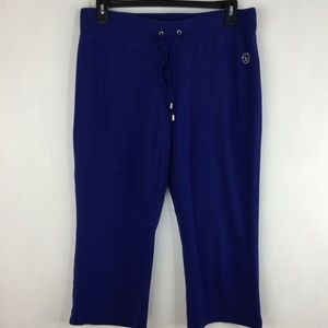Christine Alexander Sweatpants Tie Front Embellish